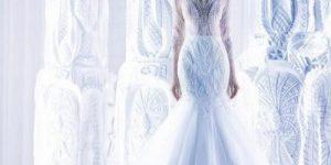 Образ невесты на свадьбе в стиле Снежная королева
