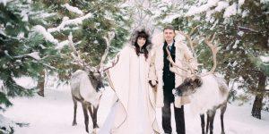 Свадьба в стиле Снежная королева