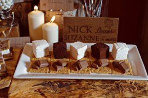 Декор свадьбы в шоколадном цвете